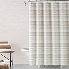 ED Ellen DeGeneres Azur Shower Curtain