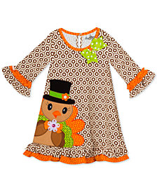 Rare Editions Toddler Girls Turkey Dress
