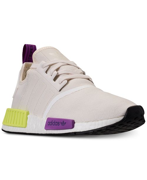 bd16a6b92147d adidas Men s NMD R1 Casual Sneakers from Finish Line   Reviews ...