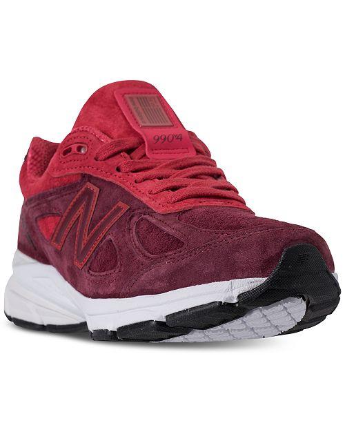 329b77080 New Balance Women s 990 V4 Running Sneakers from Finish Line ...