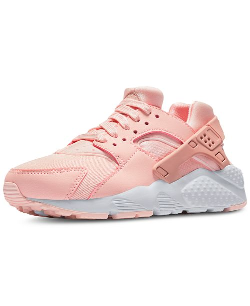 d30f35268c ... Nike Girls' Air Huarache Run SE Running Sneakers from Finish Line ...
