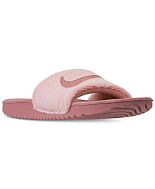 Nike Girls' Kawa SE Slide Sandals from Finish Line