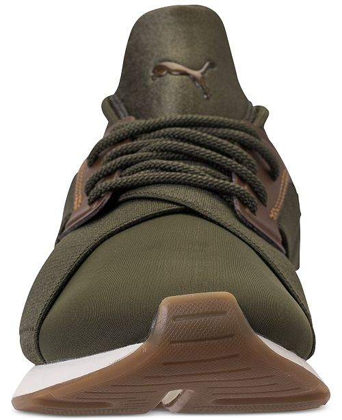792390eaf308 Puma Women s Muse Metallic Casual Sneakers from Finish Line ...
