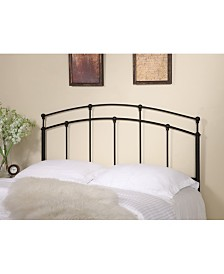 Beechhurst Transitional Full-Queen Metal Headboard, Quick Ship