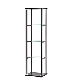 Whitestone Contemporary Four-tier Curio Cabinet