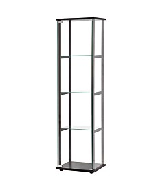 Whitestone Contemporary Four-tier Curio Cabinet