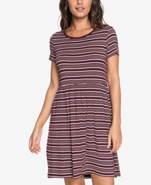 FAME FOR GLORY STRIPE T-SHIRT DRESS