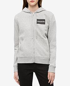 Calvin Klein Jeans Logo Zip-Up Hoodie