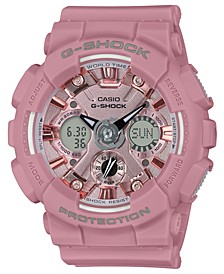 Women's Analog-Digital Rose Resin Strap Watch 45.9mm