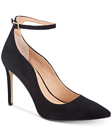 I.N.C. Women's Kasen Ankle-Strap Pumps, Created For Macy's