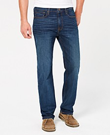 Men's Big & Tall Relaxed Fit Stretch Jeans, Created for Macy's