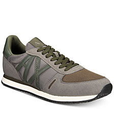 Armani Exchange Men's AX Jogger Sneakers