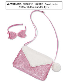 On the Verge Little & Big Girls 2-Pc. Glitter Headband & Purse Set