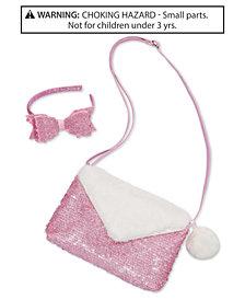 On the Verge Little & Big Girls 2-Pc. Glitter Headband & Purse Set