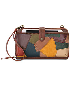 The Sak Iris Patchwork Leather Crossbody Phone Wallet