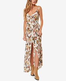 O'Neill Juniors' Slit Maxi Dress