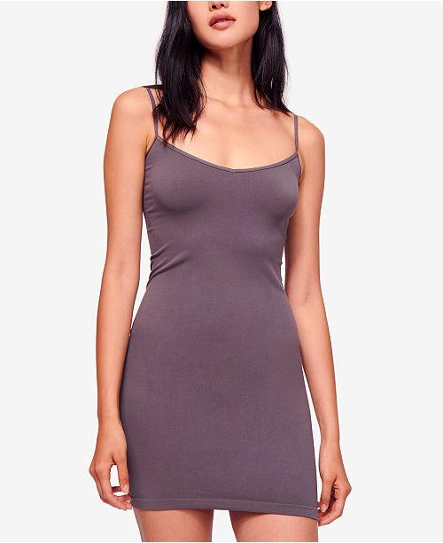 SlipReviews Seamless Free Femme People Robes Mini Gris N8m0nw