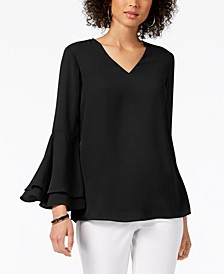 Bell-Sleeve Blouse, Created for Macy's