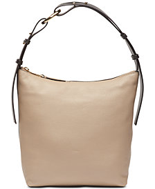 Calvin Klein Liana Pebble Leather Hobo