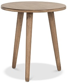 Orion Round Accent Table, Quick Ship