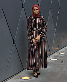Verona Collection Striped Maxi Dress