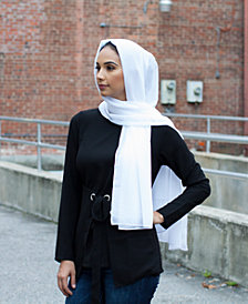 Verona Collection Chiffon Head Scarf