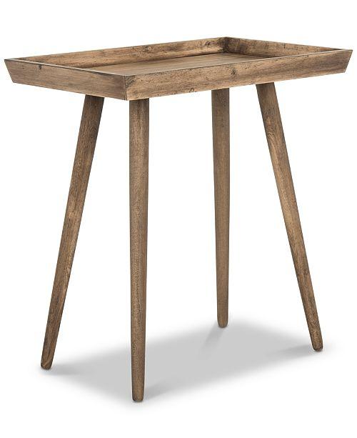 Furniture Nonie Tray Accent Table, Quick Ship