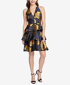 RACHEL Rachel Roy Floral-Print Ruffled Dress