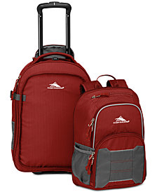 High Sierra Acc 2.0  Wheeled Backpack & Removable Daypack