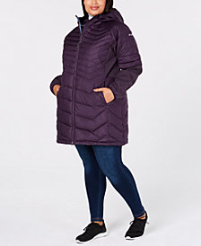 Columbia Plus Size Oyanta Trail™ Long Hybrid Jacket