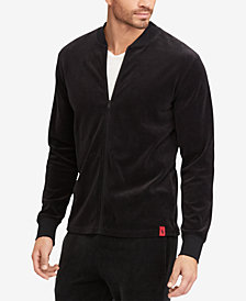 Polo Ralph Lauren Men's Velour Full-Zip Jacket