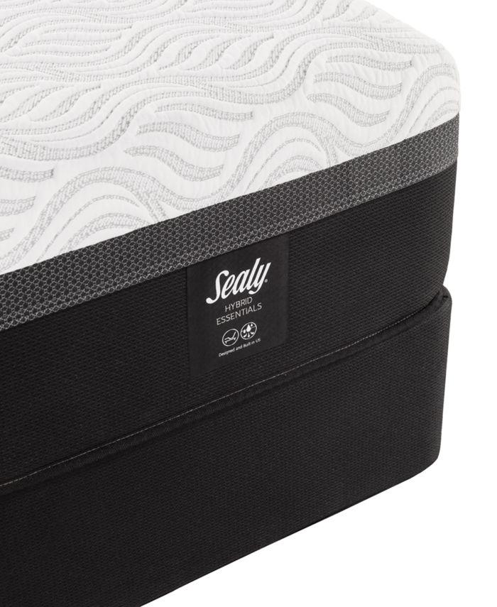 """Sealy Trust II 12"""" Hybrid Firm Mattress Set- Queen & Reviews - Mattresses - Macy's"""