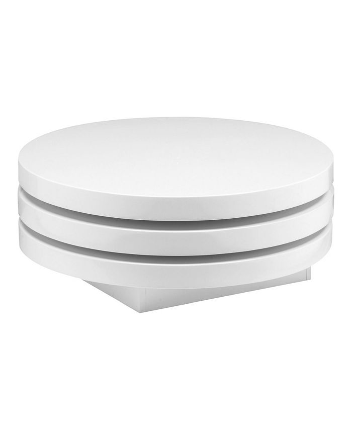 Moe's Home Collection - TORNO COFFEE TABLE WHITE