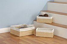 Organize It All Set of 3 Seagrass Baskets