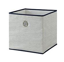 """Organize it All 12"""" x 12"""" Storage Drawer, Grey"""