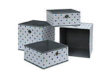 Organize it All Set of 4 Foldable Storage Cubes