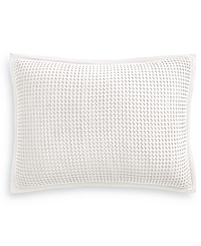 Waffle Standard Sham, Created for Macy's