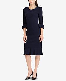 Lauren Ralph Ruffled Dress