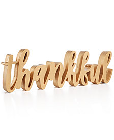 Home Essentials Thankful Sign