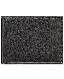 Perry Ellis Men's Manhattan Men's Pebble Leather Passcase