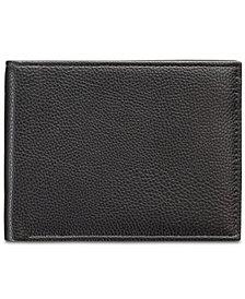Perry Ellis Men's Manhattan Men's Pebble Leather Passcase