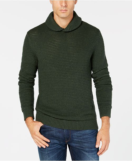 194771af9 Michael Kors Michael Kors Men s Textured Shawl Collar Sweater ...