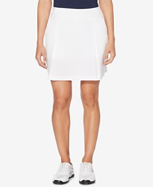 Callaway Performance Pleated Woven-Stretch Golf Skort