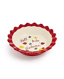 Martha Stewart Collection Mini Pie Plate, Created for Macys