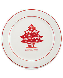 Home Essentials Molly Hatch Tree Dessert Plate