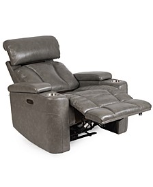 Helston Leather Triple Power Recliner