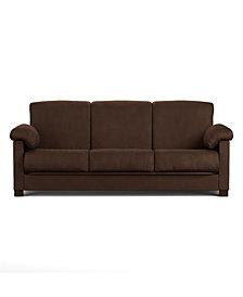 Morrison Convert-A-Couch®, Dark Brown Microfiber