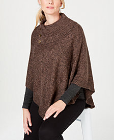 Karen Scott Poncho, Created for Macy's
