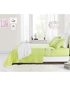 Rampage Benzoyl Peroxide-Resistant Twin Sheet Set with Storage Pockets