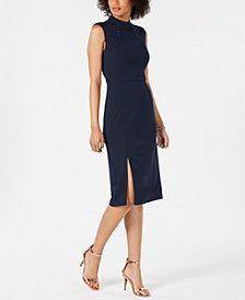 Ivanka Trump Mock-Neck Dress